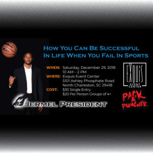 How You Can Be Successful In Life When You Fail In Sports @ Exquis Event Center